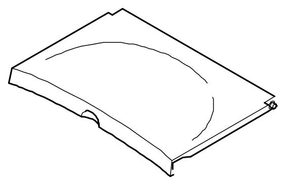Deckel für das Wasserbecken der Mondo-Serie von 1996-2009 Bravilor Bonamat