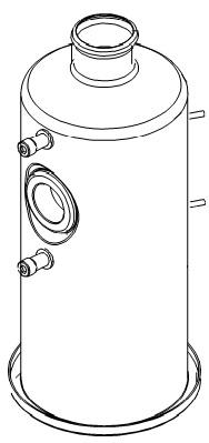 Durchlauferhitzer für die Bolero 111 Bravilor Bonamat