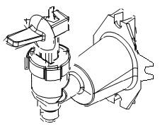 Heißwasserauslauf des Bolero 111 Bravilor Bonamat