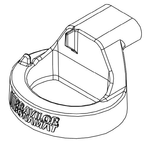 Mischkammer Oberteil für den Bolero 111 Bravilor Bonamat