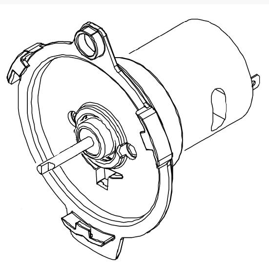 Mischermotor für den Bolero 111 Bravilor Bonamat