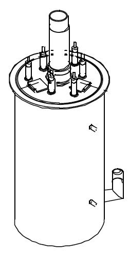 Durchlauferhitzer für die Bravilor Bonamat B 40 ab Bj.2000 Bravilor Bonamat