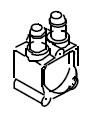 Flowmeter-Wasserzähler der B 40 ab Bj.2000 Bravilor Bonamat