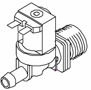 Magnetventil für die B 40 ab Bj.2000 Bravilor Bonamat