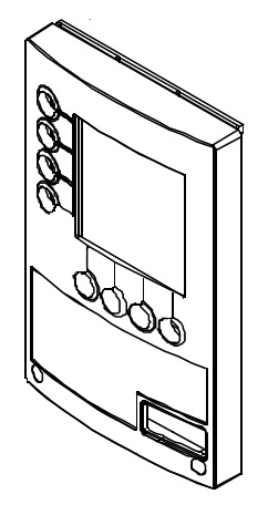 Rahmen für das Display der B 10 Bravilor Bonamat