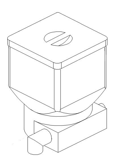 Produktbehälter mit Metallschnecke für den Bolero 11 Bravilor Bonamat