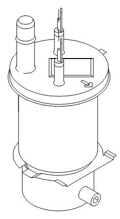 Durchlauferhitzer - Pumpe für die Mondo 2 Bravilor Bonamat