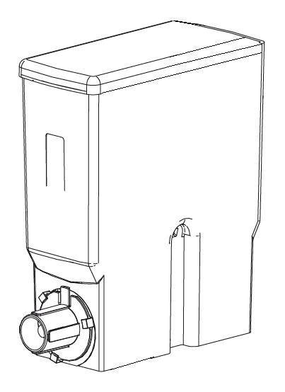 Produktbehälter Bolero 2 74 mm mit Feder